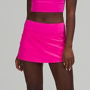 🔥 NWT Lululemon Pace Rival Skirt - Sonic Pink 4